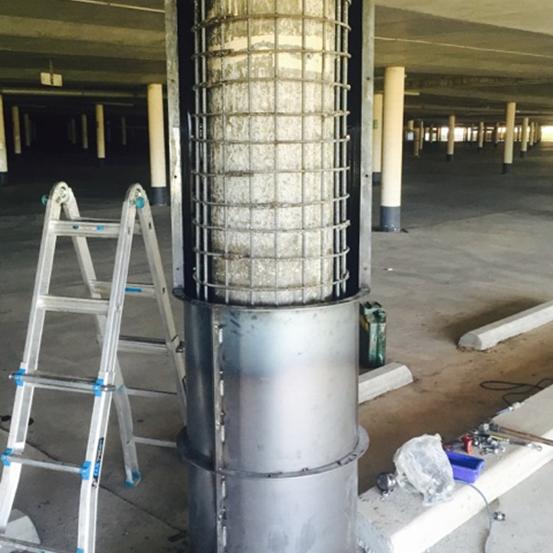 Repairing of columns7